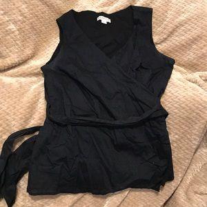 Merona Wrap Around Linen Top